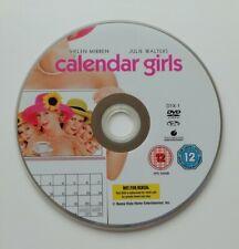 Calendar Girls DVD - Helen Mirren - Disc Only - Excellent Condition