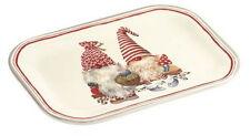 "Tablett Snack-Tray""Friendly Tomte""Herbst Weihnachten Wichtel 20,5x14,5 cm"