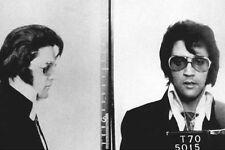 Framed Print – Elvis Presley Police Mugshot 1970 (Picture Poster Rock Roll King)