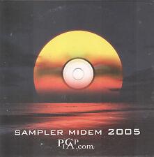 PICAP MIDEM Sampler 2005 (CD) Catalan Label/ Celtic & Flamenco/Pop & Jazz/18 Trx