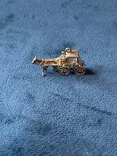 Horse And Carriage Sterling Silver Charm925