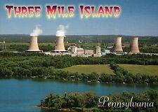 Three Mile Island, Nuclear Power Plant, near Harrisburg, Pennsylvania - Postcard
