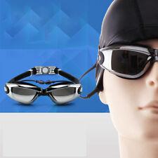 Anti-Fog Uv-proof Waterproof Pc Lens Racing Swimming Goggles Glasses Adjustable