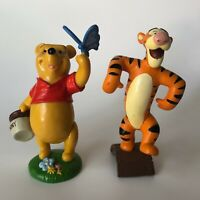 Disney Store Lil Classic Winnie The Pooh With Hunny Tigger Lot  PVC Figure