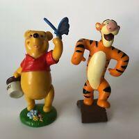 Disney Store Lil Classic Winnie The Pooh With Hunny Tigger Lot  PVC Figure