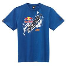 KTM RED BULL T-Shirt KINI-RB CHOPPED TEE Gr. L blau, Art.Nr. 3L101756304