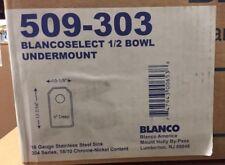 Blanco 'Blancoselect' 1/2 Bowl Undermount Sink 509-303