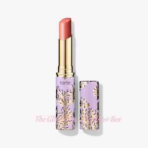 TARTE Rainforest of The Sea QUENCH LIP RESCUE BALM in ROSE 2.8g FULL SIZE