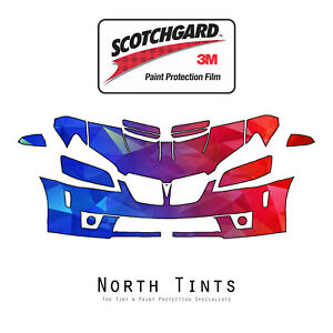 Pontiac G8 GXP 2008-2010 PreCut 3M Scotchgard Paint Protection Clear Bra PPF Kit