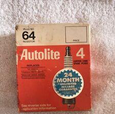 Autolite Spark Plugs 64 4 Pack