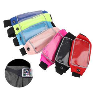 Running Sports Waist Bag Pack Waist Belt Money Wallet Zip Pouch Sport Adjust^BI