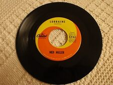 NED MILLER  LORRAINE/TEARDROP LANE CAPITOL 5742  M-