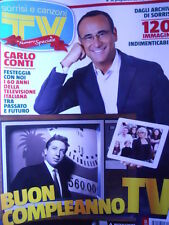 TV Sorrisi e Canzoni 52 2013 120 immagini storia TV Italiana Goldrake Carrà D17]