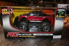 1:15 Rc Ford F-150 - Remote Control 6.4v Truck 2.4 Ghz – Red/Black