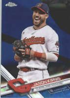 JASON KIPNIS 2017 TOPPS CHROME SAPPHIRE EDITION #480 ONLY 250 MADE