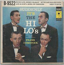 "THE HI-LO'S ""SUDDENLY IT'S THE HI-LO'S"" USA 50'S EP COLUMBIA 9522"