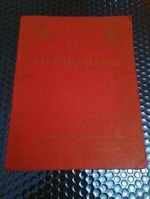 Barker & Co Rolls Royce Coachbuilders Original Prestigious Sales Brochure 1937/8