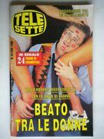 Telesette 1994 Bonolis Parietti Maigret Cremer ferrari Berger Cuccarini Saluzzi