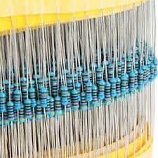 Metal Resistors Five 1% Error Electrical Equipment Passive 600pcs 1% Precision
