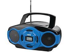 NAXA NPB-264 BL Portable MP3/CD Mini Boom Box & USB Player (Blue)