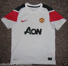 MANCHESTER UTD / 2010-2011 Away - NIKE - JUNIOR Shirt / Jersey. 10/12, 140-152