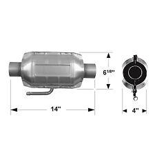 Catalytic Converter-Universal FLOWMASTER 2200125