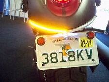 Kawasaki Vulcan 900 Custom LED Fender Eliminator Turn Signal Kit - Smoked VN900C
