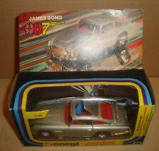 CORGI 271 JAMES BOND 007 ASTON MARTIN SCALE 1/36 METTOY UK 1977