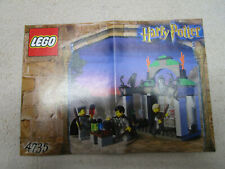 Lego Harry Potter INSTRUCTION BOOK FOR SET 4735 SLYTHERIN