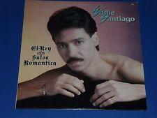 """EDDIE SANTIAGO - """"EL REY DE LA SALSA ROMANTICA""""  - RECORD ALBUM LP - SEALED!"""