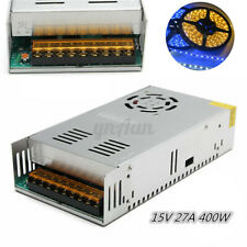 400W 15V 27A Regulated Switching Power Supply Driver Adapter Strip AC110V-220V