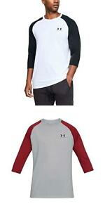 Under Armour Men's UA Sportstyle Left Chest Raglan Shirt Loose Fit T-Shirt NEW