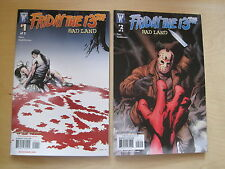 FRIDAY the 13th : BAD LAND : COMPLETE 2 ISSUE SERIES. VERY GORY !! 2008