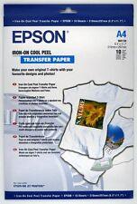 Papier Epson 10F A4 pour transfert sur T-Shirt S041154
