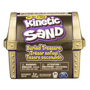 Kinetic Sand Buried Treasure! Will You Find Gold?!