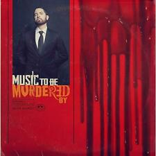 EMINEM 'MUSIC TO BE MURDERED BY' (Explicit) CD (2020)