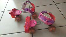 Rollschuhe für Kinder verstellbar mit normalen Schuhen zu verwenden Gr. 29-35