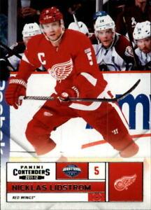 2011-12 Panini Contenders Red Wings Hockey Card #5 Nicklas Lidstrom