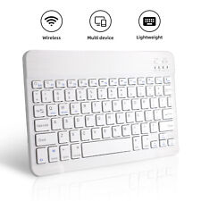 Wireless Keyboard Rechargeable Bluetooth Keyboard For PC iOS iPads Android Macs