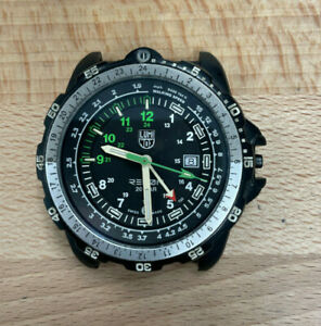 LUMINOX Recon Series 8830 Watch Black Dial For Parts As Is Not Keeping Time