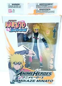 Anime Heroes Naruto Shippuden Namikaze Minato Action 6 inch Figure Action Figure