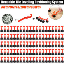 303X Tile Leveling System Kit Reusable Flat Ceramic T-Lock Locator Spacer