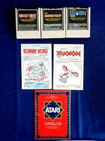 Atari 2600 Game Cartridge Lot Of 6 All Coleco Donkey Kong Mouse Trap Zaxxon +