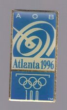 1996 Atlanta AOB Olympic Pin Media Press Broadcasting