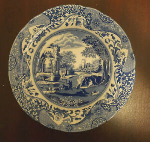 Spode Blue Italian Rim Soup Plate Bowl NEW several available