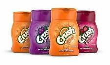 Crush, Variety Pack, Liquid Water Enhancer 4 Bottles Orange Strawberry Grape