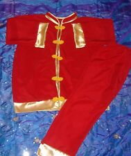 Chinese outfit for children for Christmas present or Chinese new year age 1-13 y