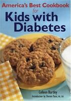 America's Best Cookbook for Kids with Diabetes (Paperback or Softback)