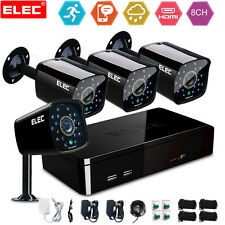 ELEC 8CH 960H 1500TVL HDMI CCTV DVR Night Video IR Home Security Camera System