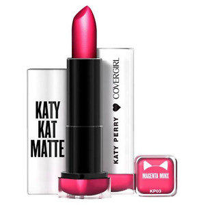 1 COVERGIRL Katy Kat Matte Lipstick KP03 Magenta Minx *SEALED*